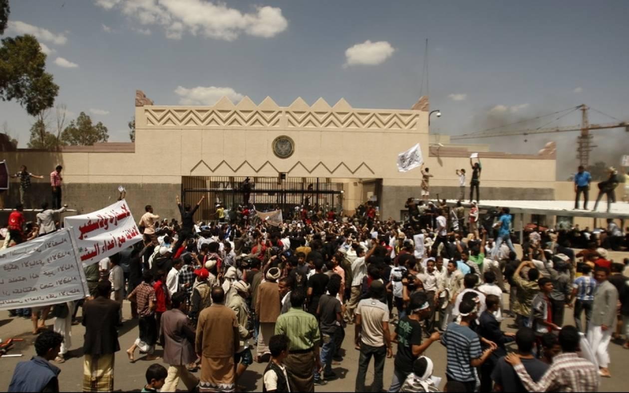Σε κατάσταση χάους η Υεμένη – Έκλεισε η πρεσβεία των ΗΠΑ