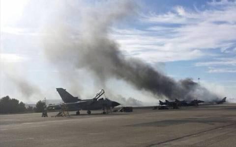 Τραγωδία στην Ισπανία: Νεκροί οι δύο Ελληνες πιλότοι του F-16