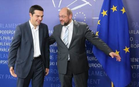 Συνάντηση Τσίπρα-Σουλτς την Πέμπτη στην Αθήνα