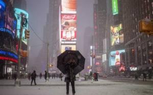 Δείτε LIVE τη χιονοθύελλα του αιώνα στις ΗΠΑ