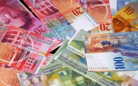 Ελβετία: Παρέμβαση κεντρικής τράπεζας για το ελβετικό φράγκο