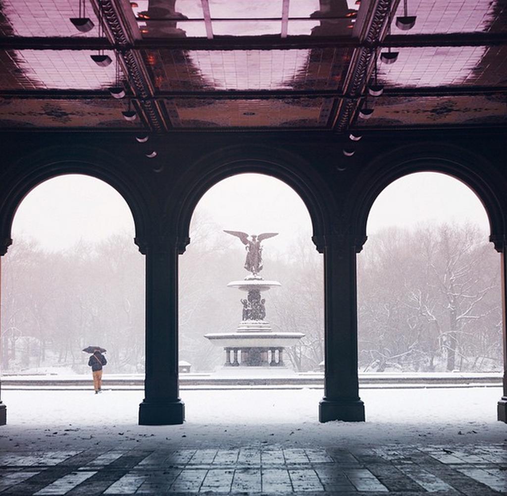 Νέα Υόρκη: Η χιονοθύελλα στο instagram (photos)