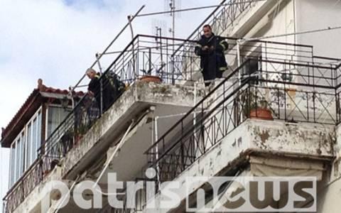 Φωτιά με θύμα 70χρονη στον Πύργο