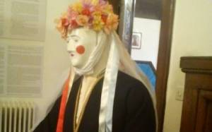 Παραδοσιακή Αποκριά με φορεσιές και μάσκες στο σπίτι της Αγγελικής Χατζημιχάλη