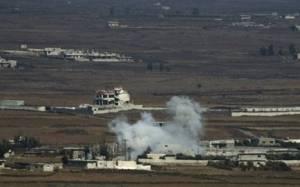 Ρουκέτες από τη Συρία έπληξαν το Γκολάν