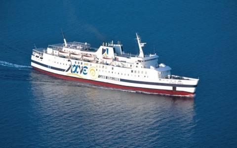 «Έμεινε» από μηχανή με 127 επιβάτες το πλοίο «Βιτσέντζος Κορνάρος»