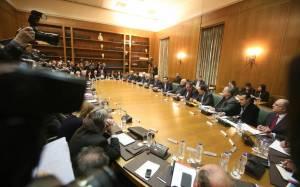 ΝΕΡΙΤ: Ομιλία Τσίπρα μετά ηχητικών εμποδίων