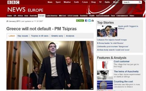 Μεγάλο το διεθνές ενδιαφέρον για τις δηλώσεις Τσίπρα στο υπουργικό συμβούλιο