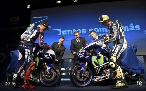 MotoGP: Η παρουσίαση της ομάδας της Yamaha και τα παραλειπόμενα