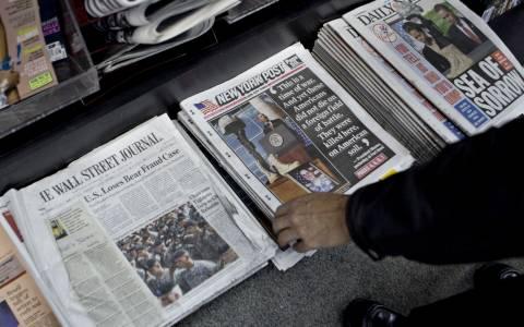 Τα αμερικανικά ΜΜΕ για τις πολιτικές εξελίξεις στην Ελλάδα