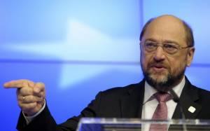 Ο Μάρτιν Σουλτς επέκρινε τον Αλέξη Τσίπρα για την στάση του απέναντι στη Ρωσία