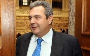 Σειρά επαφών για το νέο υπουργό 'Αμυνας Πάνο Καμμένο