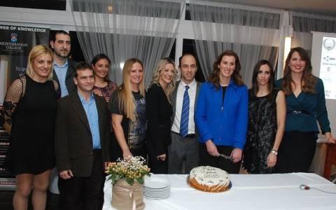 Το Mediterranean College στο πλευρό των Ελλήνων Ολυμπιονικών