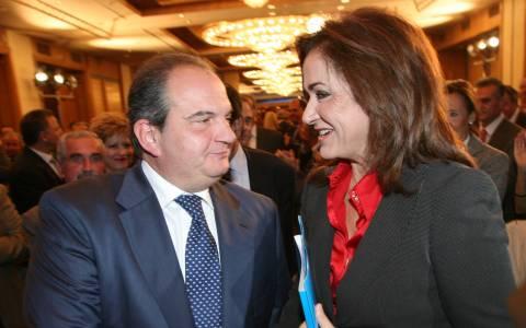 Συνάντηση Ντόρας Μπακογιάννη-Κ. Καραμανλή
