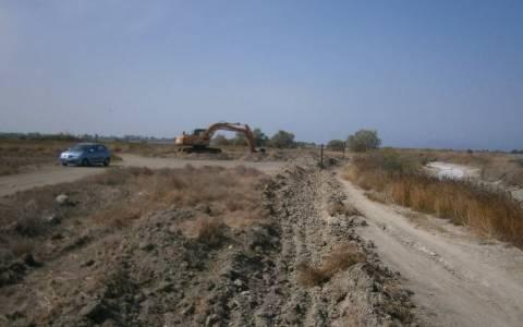 Σέρρες: Εργασίες έφεραν στο φως αρχαίο τάφο