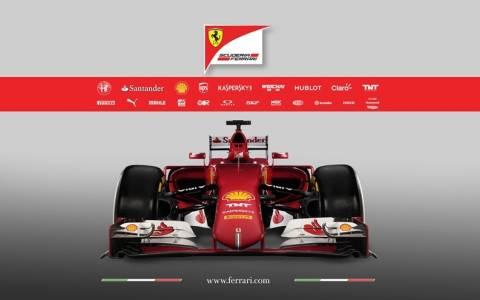 F1: Η παρουσίαση της Ferrari SF15-T του 2015