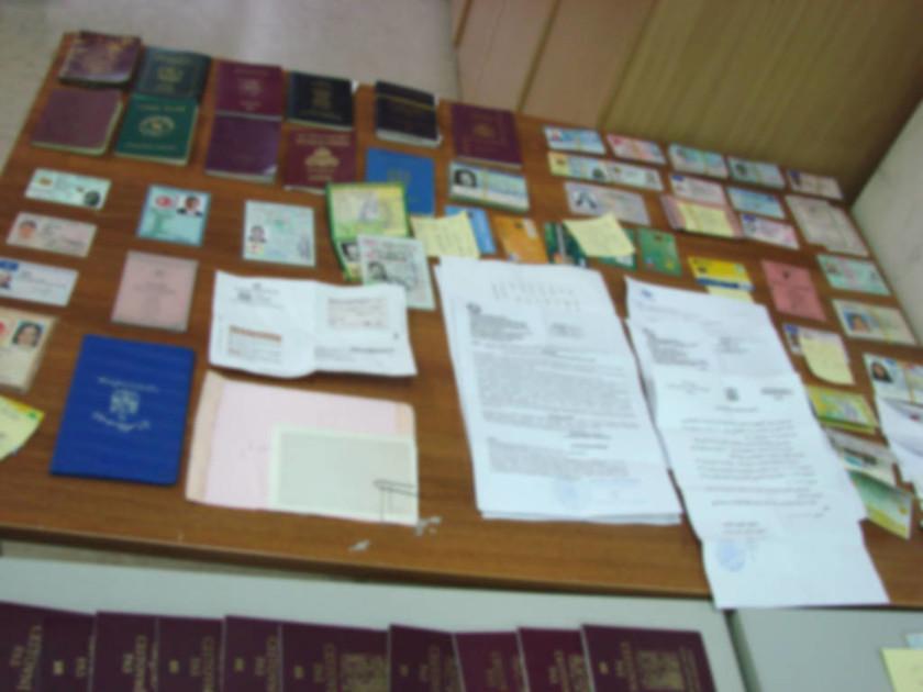 Εξαρθρώθηκε σπείρα που διακινούσε πλαστά ταξιδιωτικά έγγραφα