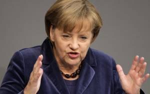 Αρνητική (ξανά) η Μέρκελ στο ενδεχόμενο νέας διαγραφής του χρέους