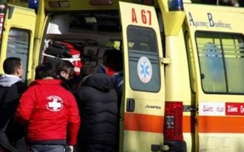 Λαμία: Στο νοσοκομείο 52χρονος που παρασύρθηκε από αυτοκίνητο