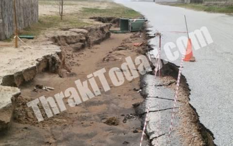 Κακοκαιρία: Εικόνες βιβλικής καταστροφής στη Ξάνθη