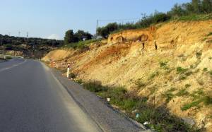 Κλειστός, λόγω καθίζησης, ο δρόμος Ποταμιά - Λιαντίνα Λακωνίας