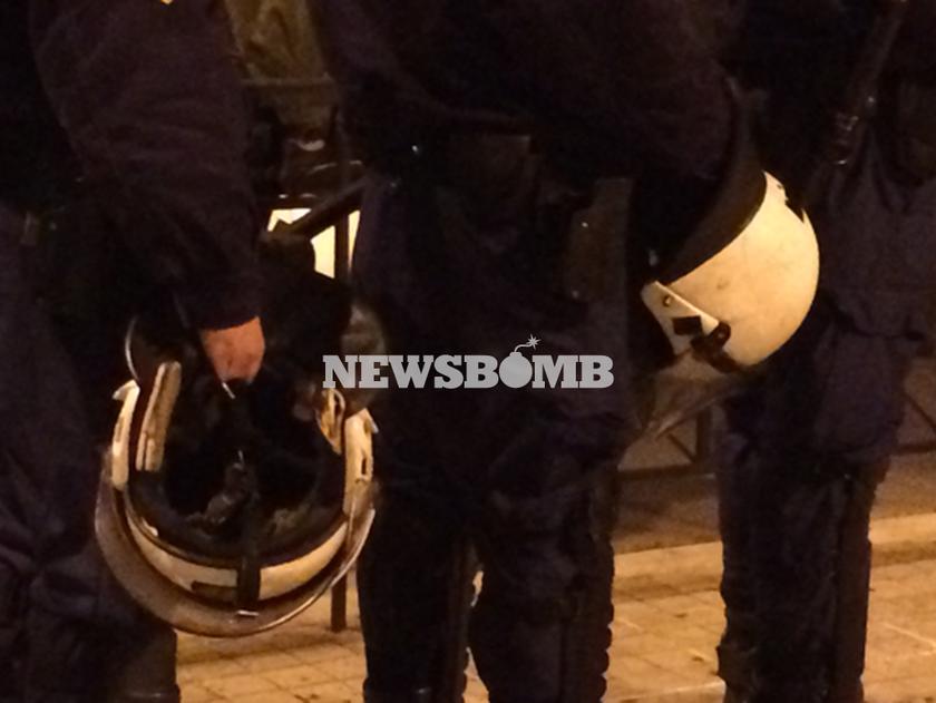 Η πρώτη πορεία με άοπλους αστυνομικούς (Pics)