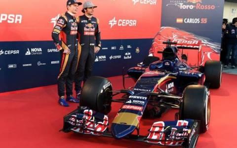 F1: Τα αποκαλυπτήρια της Scuderia Toro Rosso 10 του 2015