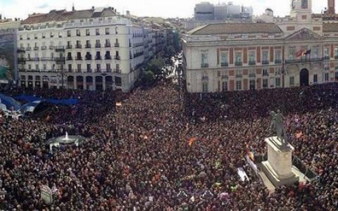 Podemos: «Άνεμος αλλαγής στην Ευρώπη» σε άπταιστα ελληνικά... (vid)