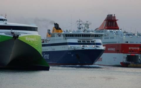 Κακοκαιρία: Φεύγουν τα πλοία από Πειραιά-Ραφήνα-Λαύριο - Κλειστό το Ρίο-Αντίρριο