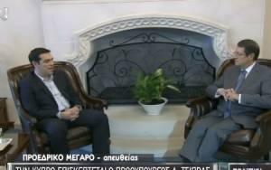 Τσίπρας: Στήριξη της Κύπρου για δίκαιη λύση στο Κυπριακό