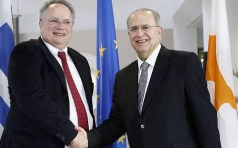 Συζήτησαν το Κυπριακό Κασουλίδης-Κοτζιάς
