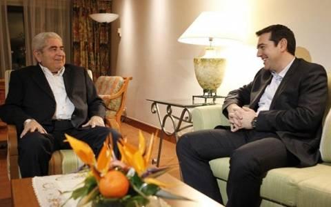 Χριστόφιας: Κοινή η προσπάθεια Ελλάδας - Κύπρου για απαλλαγή από την τρόικα