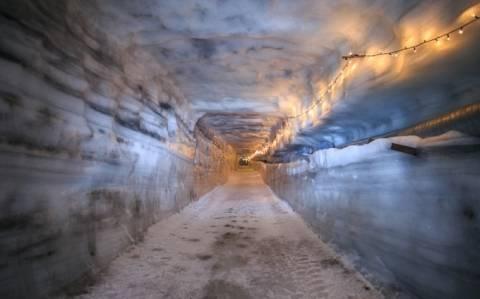 Ένα τούνελ θα οδηγεί πίσω… στην εποχή των παγετώνων! (photos)