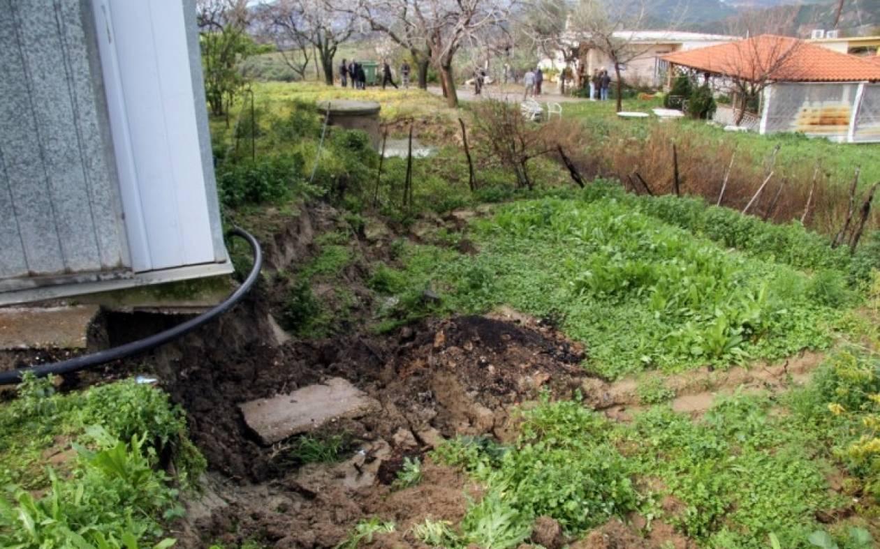 Κακοκαιρία: Ζημιές σε 22 σπίτια στην ορεινή Ναυπακτία