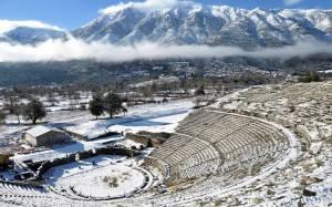 Δείτε χιονισμένο το αρχαίο θέατρο της Δωδώνης (pics)