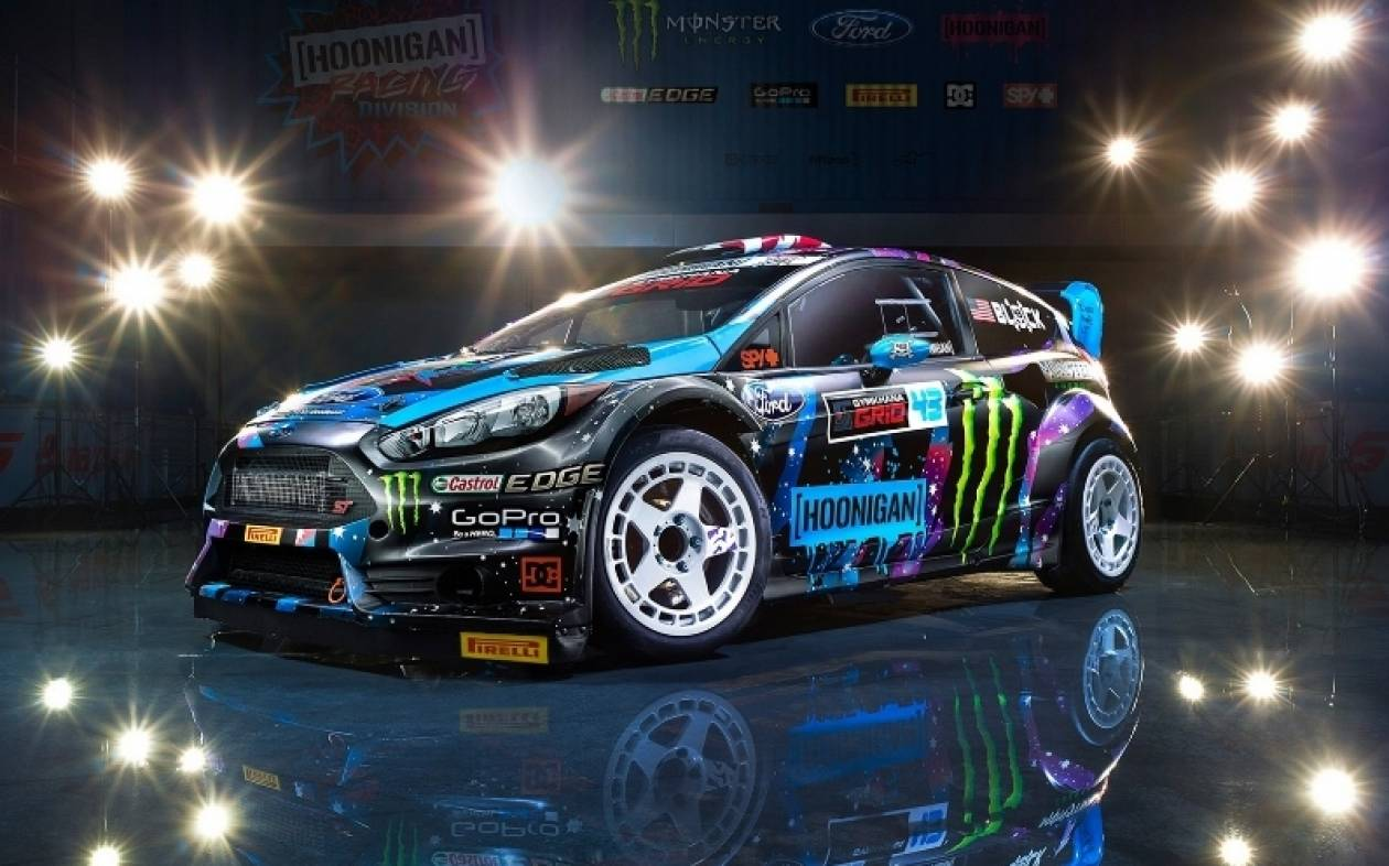 Rallycross: Τα καινούργια χρώματα του Ken Block