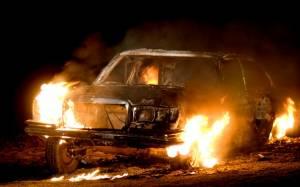 Παρανάλωμα του πυρός αυτοκίνητο στο Ηράκλειο