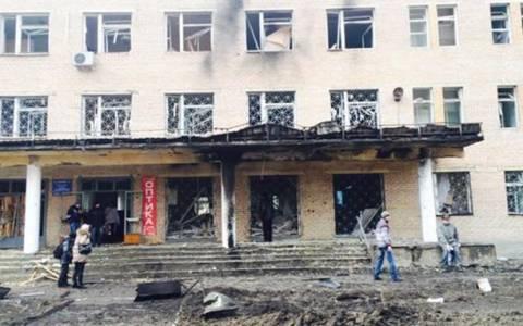 Ουκρανία: Οβίδα έπληξε νοσοκομείο - 4 νεκροί
