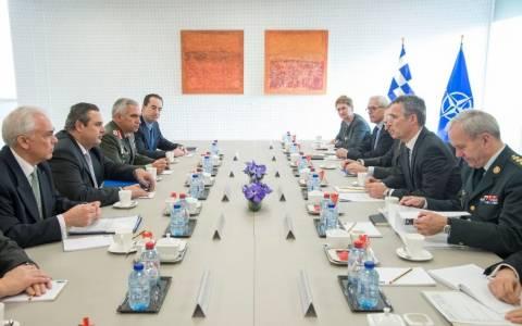 Καμμένος: Η Ελλάδα θα συνεχίσει την καλή συνεργασία της με το ΝΑΤΟ