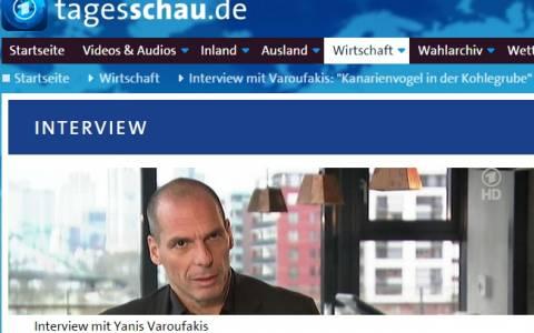Βαρουφάκης στο ARD: «Δεν συμφέρει τη Γερμανία να μη μας βοηθήσει»