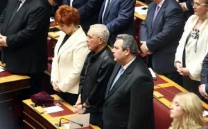 Καμμένος: Οι Έλληνες ενωμένοι δεν υποκύπτουμε σε εκβιασμούς