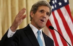 Τζ. Κέρι: «Δεν επιδιώκουμε τη σύγκρουση με τη Ρωσία»