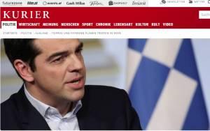 Kurier: «Η πολιτική καρδιά πολλών Ελλήνων χτυπά αριστερά»
