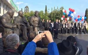 Ρωσία: Αποκαλυπτήρια του μνημείου για την ιστορική διάσκεψη της Γιάλτας