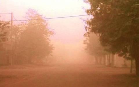Διακοπές ρεύματος λόγω ...αφρικανικής σκόνης σε Σαμοθράκη, Αλεξανδρούπολη, Ξάνθη