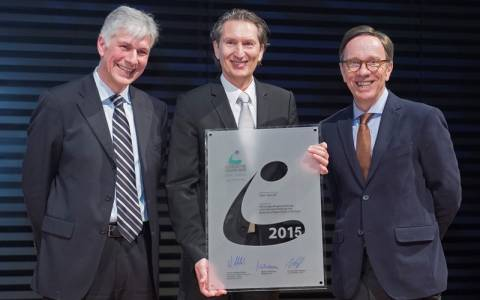 Opel: Κερδίζει το περίοπτο 2015 VDA Logistics Award