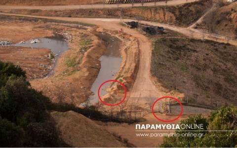 Οικολογική καταστροφή - Διαφεύγουν τα λύματα από τον ΧΥΤΑ στον Αχέροντα (video)