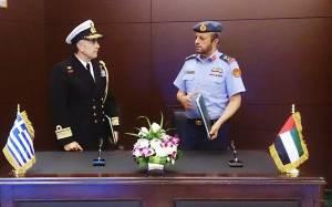 Στρατιωτική συνεργασία Ελλάδας-Ηνωμένα Εμιράτα (pics)