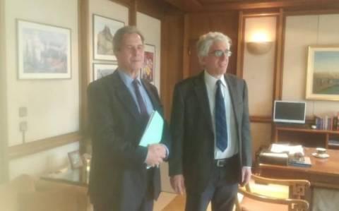 Συνάντηση Παρασκευόπουλου με τον πρόεδρο του Συνταγματικού Δικαστηρίου της Γαλλίας