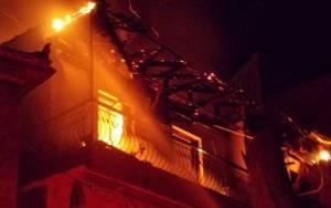 Παρανάλωμα του πυρός μονοκατοικία στα Χανιά
